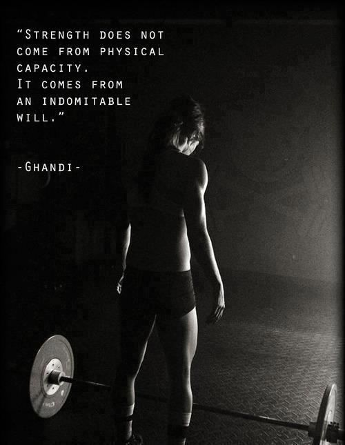 Fitness Quote 1 - strength