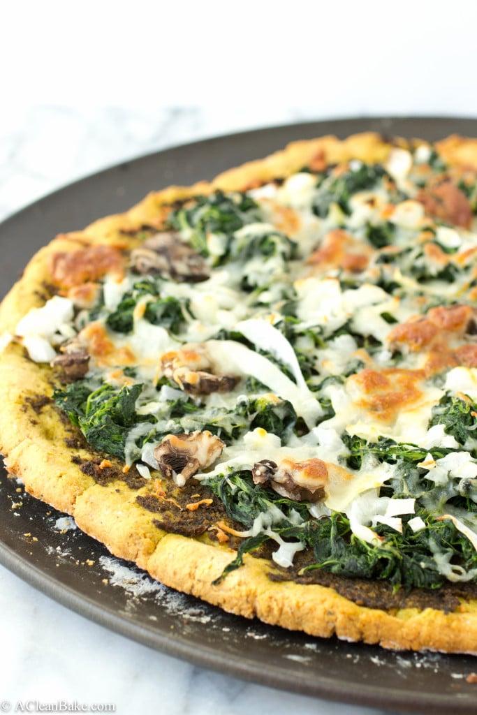 Grain-Free Thin Crust Pizza via A Clean Bake