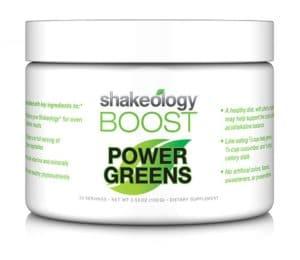 Shakeology Boost Power Greens